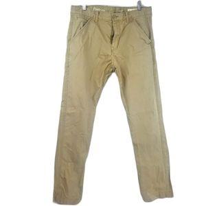 Gap 1969 Mens khaki pants slim 32x32